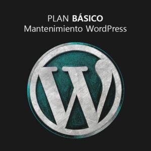 Plan básico de mantenimiento WordPress
